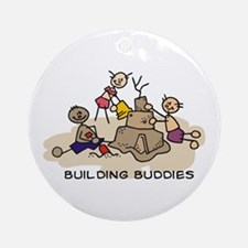building buddies Ornament (Round)