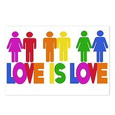 Love is Love Postcards (Package of 8)