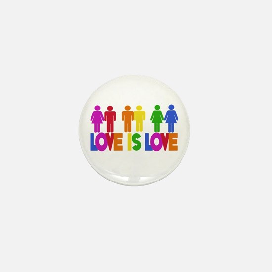 Love is Love Mini Button