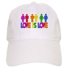 Love is Love Baseball Baseball Cap