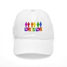 Love is Love Baseball Cap