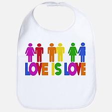 Love is Love Bib
