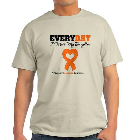 Leukemia MissMyDaughter Light T-Shirt