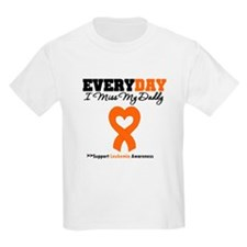 Leukemia MissMyDaddy T-Shirt