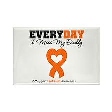 Leukemia MissMyDaddy Rectangle Magnet (10 pack)