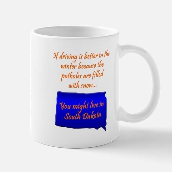 Potholes... Mug