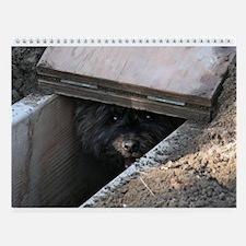 Earthdog Wall Calendar