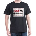 I Love My Phonologist Dark T-Shirt