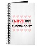 I Love My Phonologist Journal
