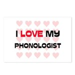 I Love My Phonologist Postcards (Package of 8)