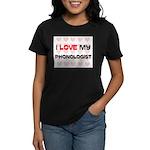 I Love My Phonologist Women's Dark T-Shirt