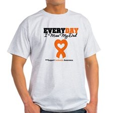 Leukemia MissMyDad T-Shirt