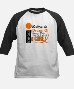 BELIEVE DREAM HOPE Kidney Cancer Kids Baseball Jer