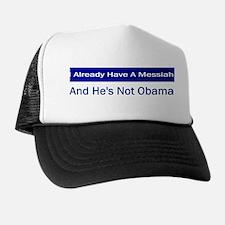 Not My Messiah Trucker Hat