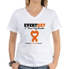 Leukemia MissMyBrother Shirt