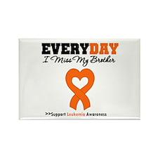 Leukemia MissMyBrother Rectangle Magnet (10 pack)