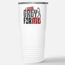 I Wear Grey For Me 6 Travel Mug