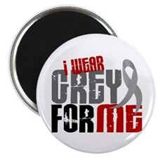 I Wear Grey For Me 6 Magnet