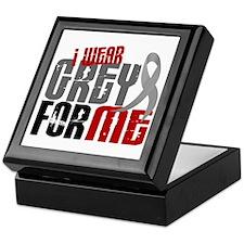 I Wear Grey For Me 6 Keepsake Box