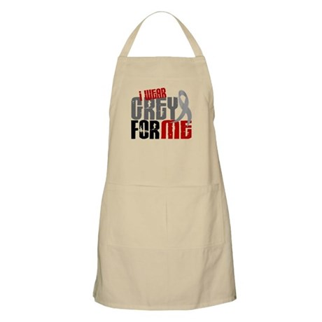 I Wear Grey For Me 6 BBQ Apron