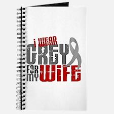 I Wear Grey For My Wife 6 Journal