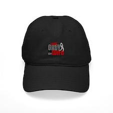 I Wear Grey For My Wife 6 Baseball Hat