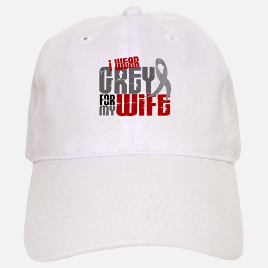 I Wear Grey For My Wife 6 Hat