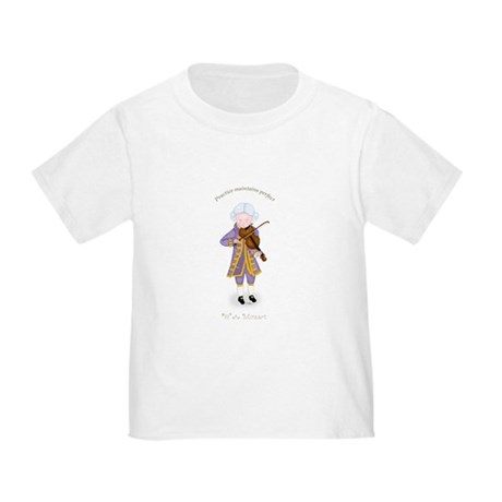 Mozart Playing the Violin Toddler T-Shirt