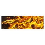 Red Flame Large E-Cig Skin