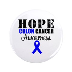 Colon Cancer Hope Ribbon 3.5