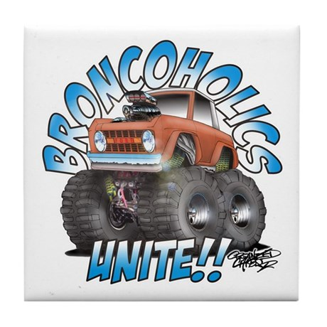 BroncoHolics Unite!!! - Early Tile Coaster