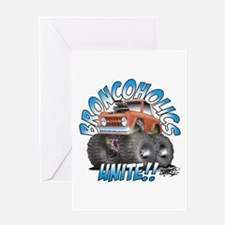 BroncoHolics Unite!!! - Early Greeting Card