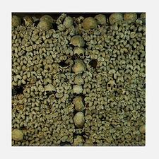 Paris Catacombs Tile Coaster