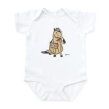 Funny Horse Infant Bodysuit