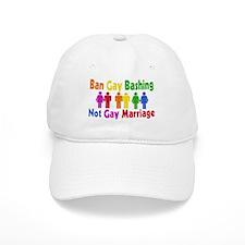 Ban Gay Bashing Baseball Cap