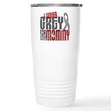 I Wear Grey For My Mommy 6 Travel Mug