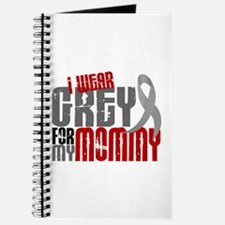 I Wear Grey For My Mommy 6 Journal