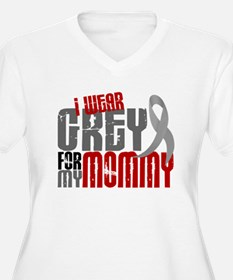 I Wear Grey For My Mommy 6 T-Shirt