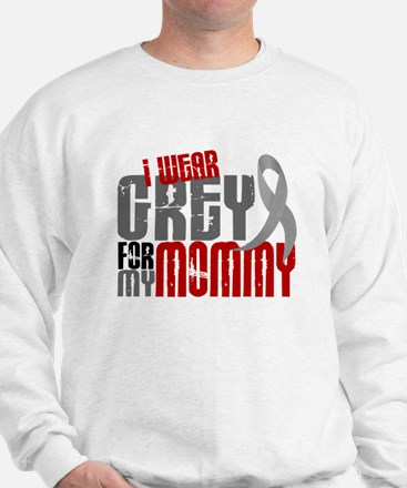 I Wear Grey For My Mommy 6 Jumper
