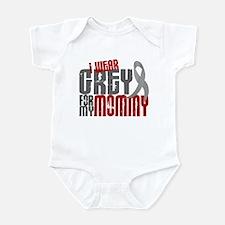 I Wear Grey For My Mommy 6 Infant Bodysuit