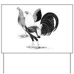 American Game Fowl Yard Sign