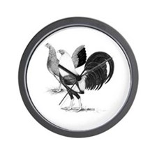 American Game Fowl Wall Clock