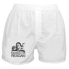 Raised on Reagan Boxer Shorts