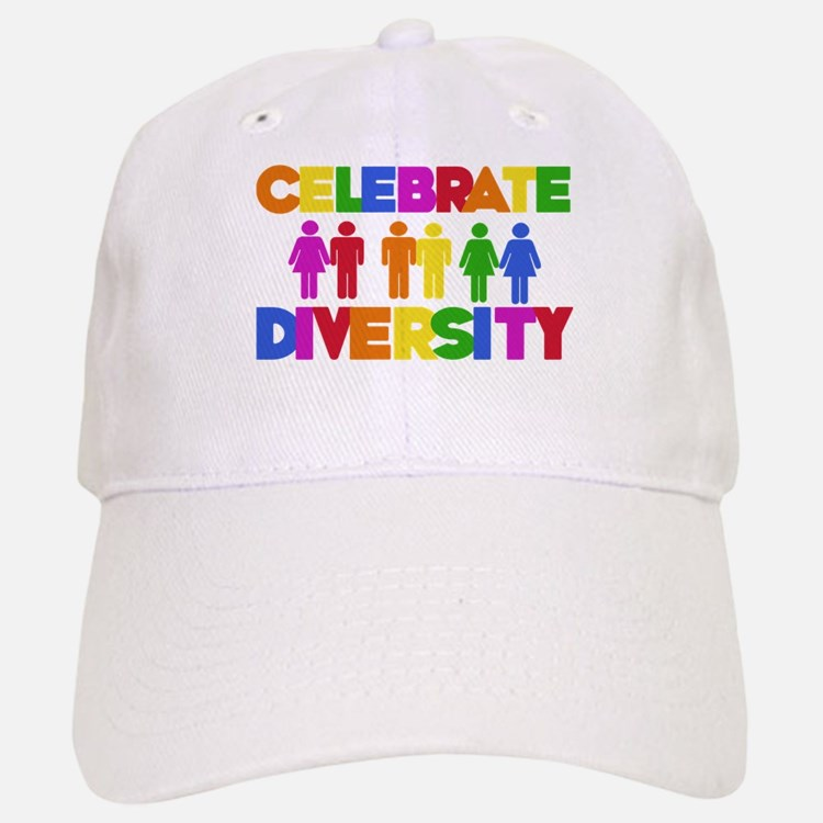 Celebrate Diversity Baseball Baseball Cap
