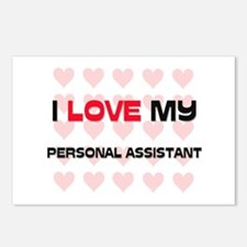 I Love My Personal Assistant Postcards (Package of