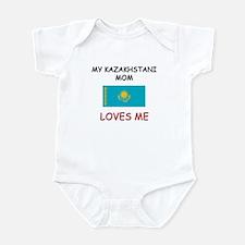 My Kazakhstani Mom Loves Me Infant Bodysuit