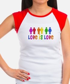 Love is Love Women's Cap Sleeve T-Shirt