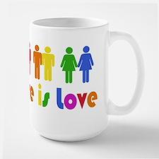 Love is Love Large Mug