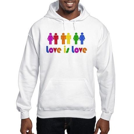 Love is Love Hooded Sweatshirt