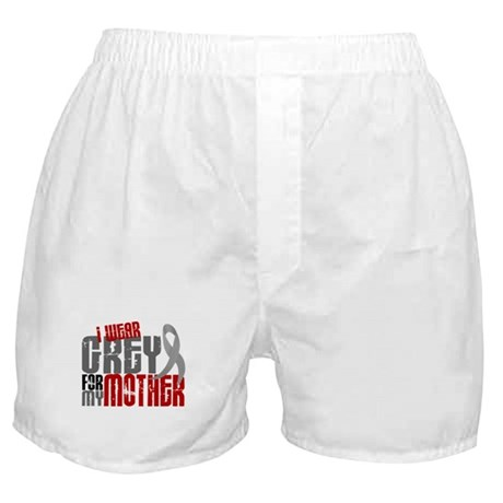 I Wear Grey For My Mother 6 Boxer Shorts